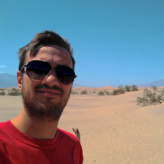Me in Death Valley